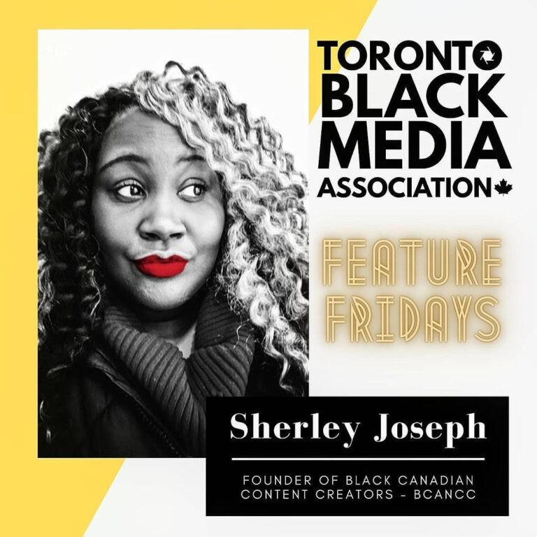 Toronto Black Media Assoc. Spotlights Sherley Joseph